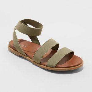 Paisley Elastic Ankle Sandals- Universal Thread